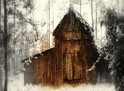 Vickie Hibler - Winter Barn