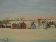 Rebecca Jackson - Winter Barns