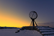 Winter Beyond The Arctic Circle Print by Ulrich Schade