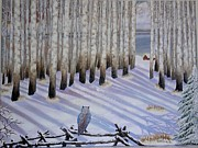 Sunny  Kim - Winter birches