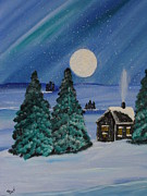 Beverly Livingstone - Winter-Cabin-In The Woods