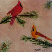 Rich Fotia - Winter Cardinals