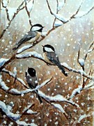 Robert Stump - Winter Chickadees