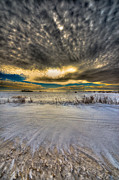Snow Drifts Photos - Winter Drama 9369 by Ian McGregor