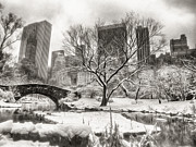 Cities Digital Art - Winter Dreams by Nishanth Gopinathan