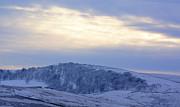 Winter Dusk Near Buxton Print by David Birchall
