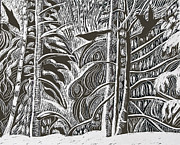 Grace Keown - Winter Etching