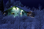 Inna Samoilova - Winter evening in Lapland