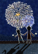 Pen Osawa - Winter fireworks
