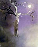 Winter Goddess II Print by Alys Caviness-Gober