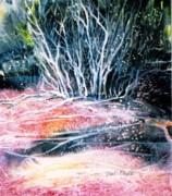Winter Habitat No.1 Print by Trudi Doyle