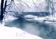 Winter Landscape Art - Winter Haiku by Jessica Jenney