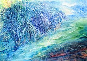 Sacred Artwork Originals - Winter Hawthorn by Trudi Doyle