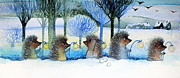 Oxana Zaika - Winter Hedgehogs