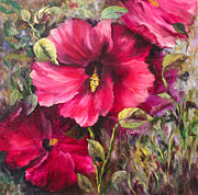 Elaine Bailey - Winter Hibiscus