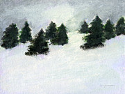 J Reifsnyder Prints - Winter Hill Print by J Reifsnyder