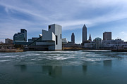 Hall Of Fame Photo Metal Prints - Winter In Cleveland Metal Print by Dale Kincaid