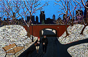Central Park Originals - Winter In New York by Edward Fuller