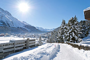 Design Windmill - Winter in St. Moritz