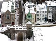Anne Gordon - Winter in the Old City