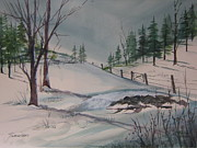 John Smeulders - Winter Landscape