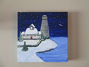 Christina Dudycz - Winter Lighthouse