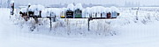 Fine Art - Winter Mailbox Panorama by Sean Griffin