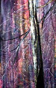 Embroidered Tapestries - Textiles - Winter by Maureen Wartski