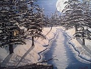 Christy Burkett - Winter Moonlight