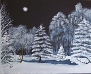 Lucia Grilletto - Winter Moonlight In The...