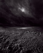 Darkness Photo Prints - Winter Nightscape Print by Bob Orsillo