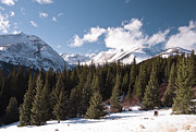 Colorado Mountains Photos - Winter on Hoosier Pass by The Forests Edge Photography - Diane Sandoval