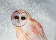 Lyn DeLano - Winter Owl