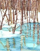 Lin Deahl - Winter River