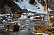 Zach Edlund Prints - Winter River Print by Zach Edlund