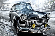 Winter Roads Digital Art Posters - Winter Road Warrior Poster by Pennie  McCracken