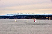 Featured On Fineart America - Winter Sails Event by Sean Griffin