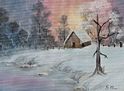 AmaS Art - Winter Scene 1