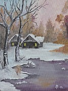 AmaS Art - Winter Scene 2