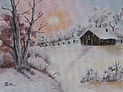 AmaS Art - Winter Scene 3
