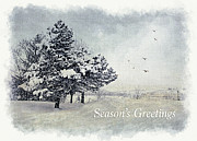 Julie Palencia - Winter Scene Greeting Card