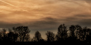 Rural Photos - Winter Sky by Gerlinde Keating - Keating Associates Inc