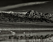 Panamint Valley Photos - Winter Snow Panamint Range Inyo County CA by Troy Montemayor