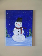 Christina Dudycz - Winter Snowman