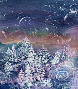 Portal Mixed Media - Winter Solstice  by Kathy Bassett