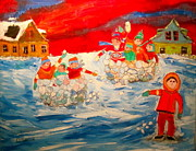 Michael Litvack Art - Winter Sport by Michael Litvack