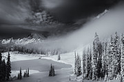 Fog Art - Winter Storm Clears by Mike  Dawson