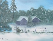 Robert Benton - Winter Storm In Georgia