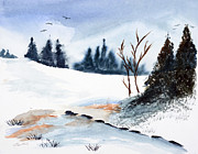 Wade Binford - Winter Stream