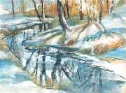 Kerry Kupferschmidt - Winter Stream and...